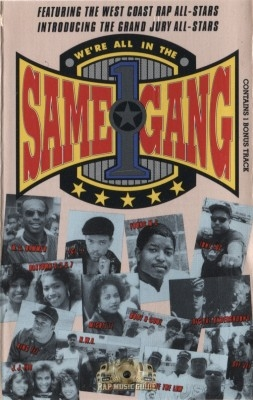 The West Coast Rap All-Stars - We're All In The Same Gang