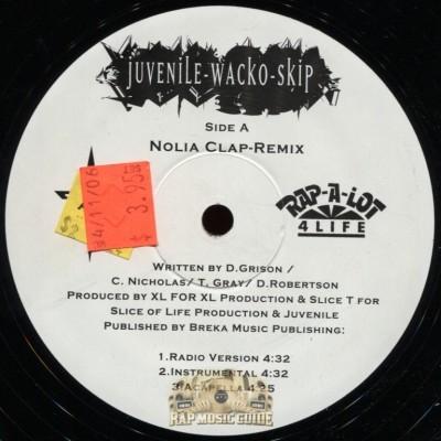 Juvenile, Wacko, Skip - Nolia Clap (Remix)/What's Up