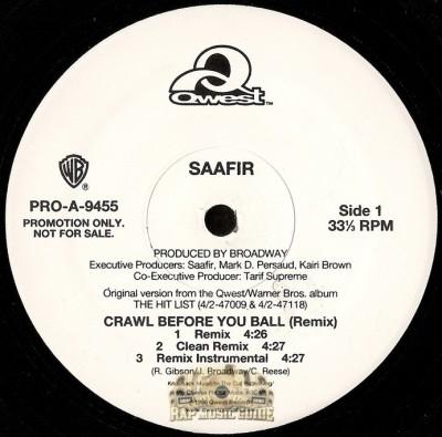 Saafir - Crawl Before You Ball Remix
