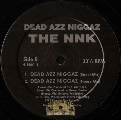 The NNK - Dead Azz Niggaz