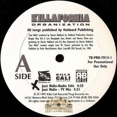 Killafornia Organization - Just Ridin
