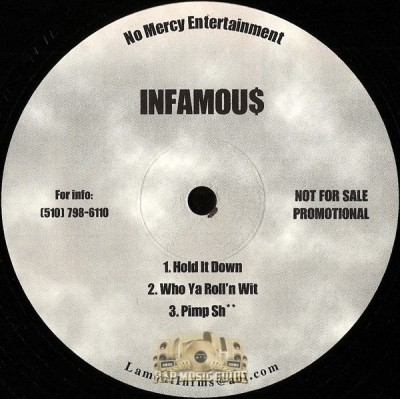 Infamous - Hold It Down EP