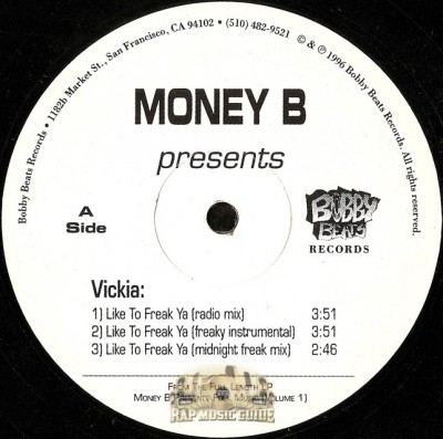 Money B - Like To Freak Ya / Pick A Part / N.A.B.