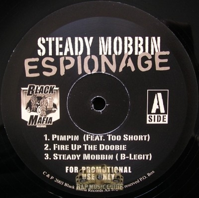 Steady Mobbin - Espionage EP