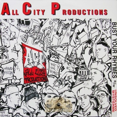 All City Productions - Bust Your Rhymes