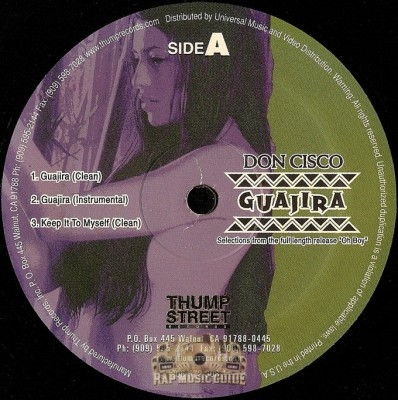 Don Cisco - Guajira / Keep It To Myself