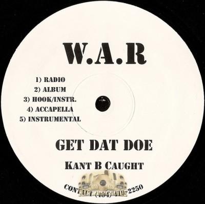 Kant B Caught - Get Dat Doe