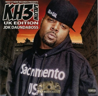 JDK DaUndaBoss - KH3 Mixtape UK Edition