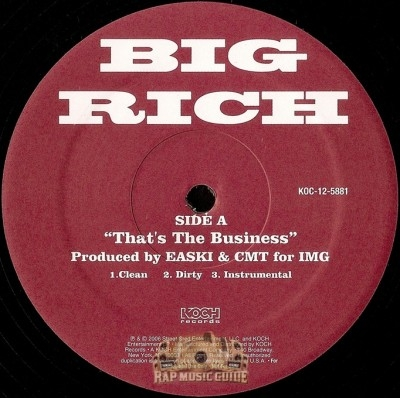 Big Rich - That's The Business