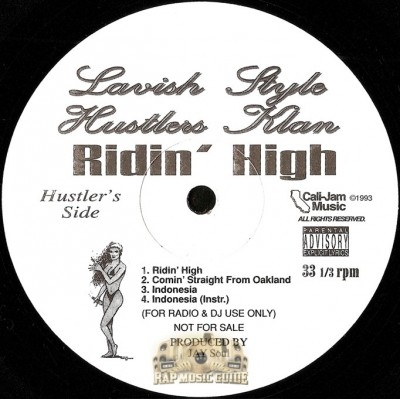 Lavish Style Hustlers Klan - Ridin' High