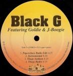 Black G - Paperchase / Thugz Anthem / Gangsta Boogie