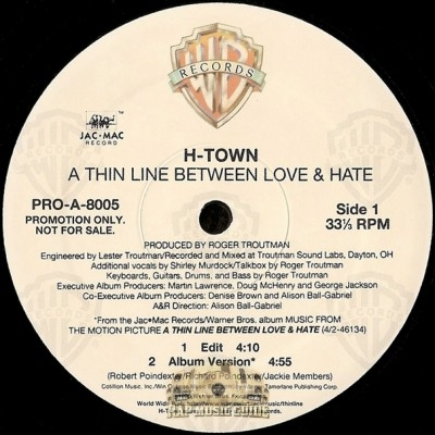 H-Town - A Thin Line Between Love & Hate