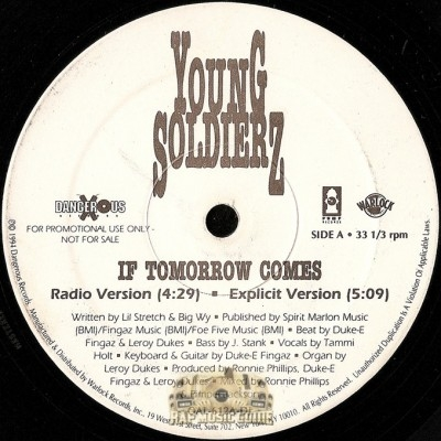 Young Soldierz - If Tomorrow Comes