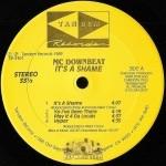 MC Downbeat - It's A Shame