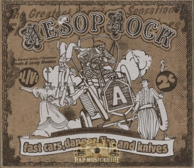 Aesop Rock - Fast Cars, Danger, Fire And Knives