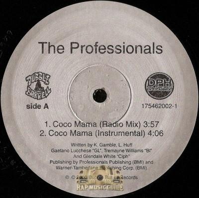 Professionals - Coco Mama / Where My Niggaz At