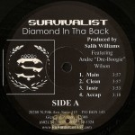 Survivalist - Diamond In Tha Back / Contemplating