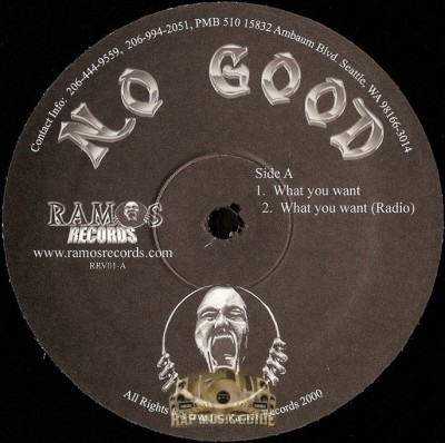 No Good - What You Want / Playaz Paradise