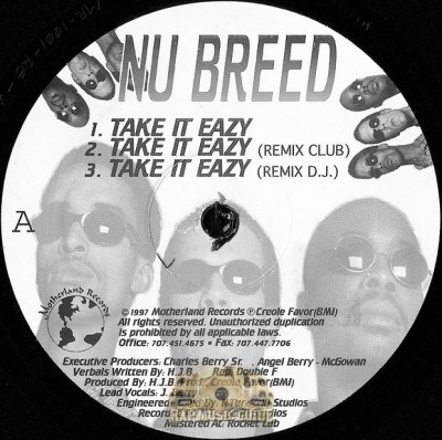 Nu Breed - Take It Easy