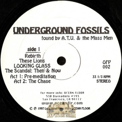 Abstract Tribe Unique - Underground Fossils