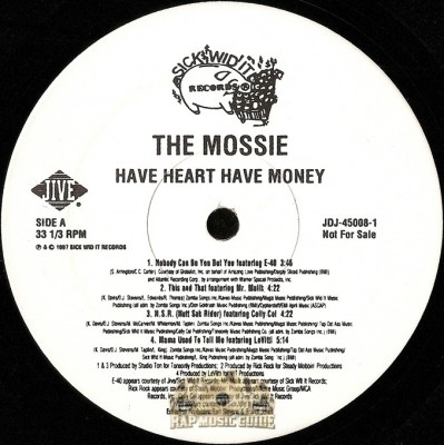 Mossie - Have Money Have Heart