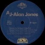 AJ Alan Jones - Peace Come Back 2 Me