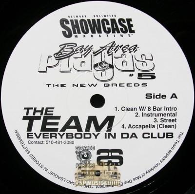 Bay Area Playas 5 - Everybody In Da Club / The Anthem