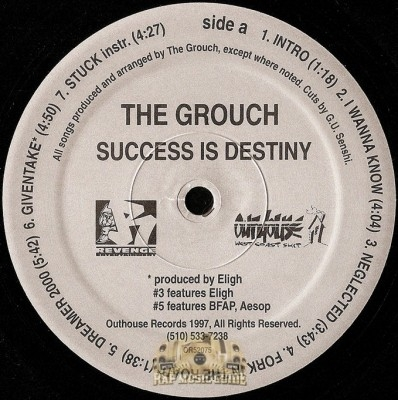 Grouch - Success Is Destiny