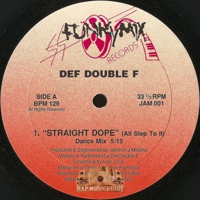 Def Double F - Straight Dope