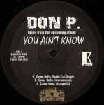 Don P - You Ain't Know EP