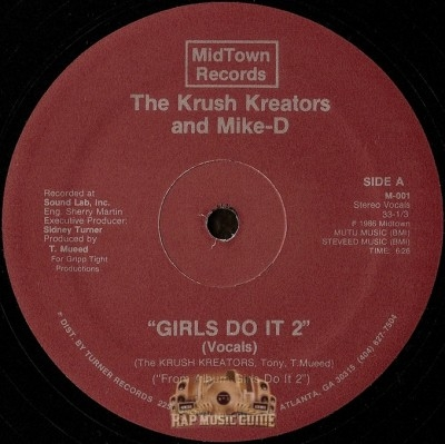 Krush Kreators and Mike-D - Girls Do It 2