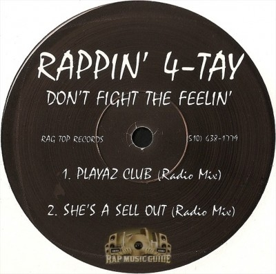 Rappin' 4-Tay - Playaz Club / She's A Sell Out