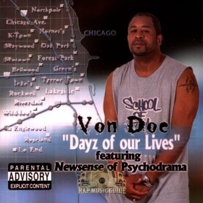Von Doe - Dayz Of Our Lives