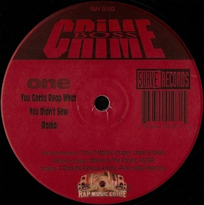 Crime Boss - You Gotta Reap What You Didn't Sew