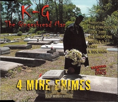 K-G The Gingerbread Man - 4 Mine Enimes