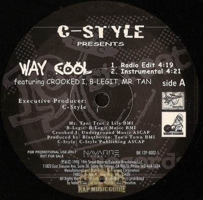 C-Style - Way Cool