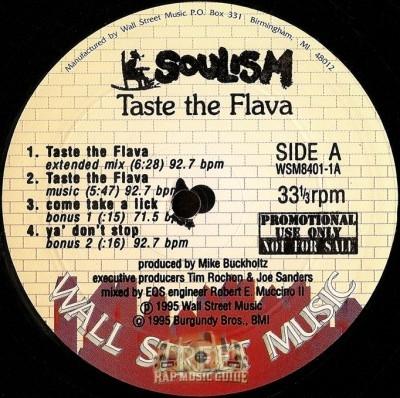Soulism - Taste the Flava