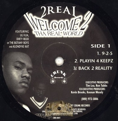 2 Real - Welcome 2 Tha Real World