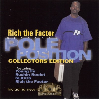 Rich The Factor - Pole Position (Collectors Edition)