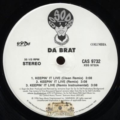 Da Brat - Keepin' It Live