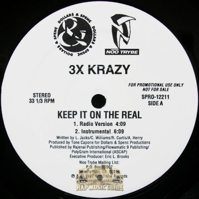 3x Krazy - Keep It On The Real