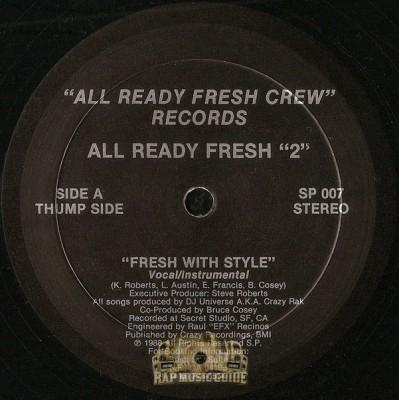 All Ready Fresh
