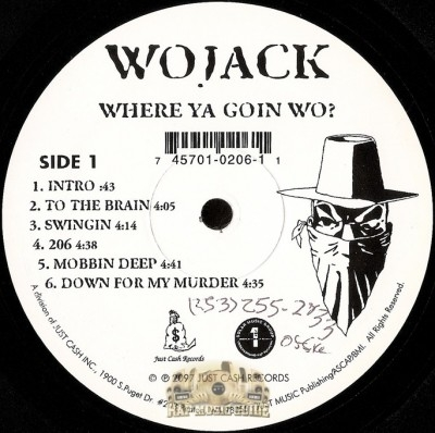 Wojack - Where Ya Goin Wo?