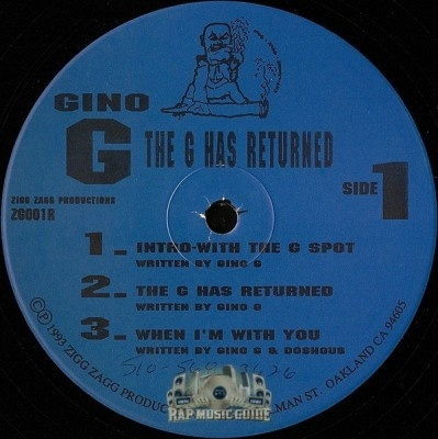 Gino G - The G Has Returned