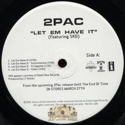 2Pac - Let Em Have It