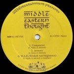 We Be I - Middle Eastern Thought