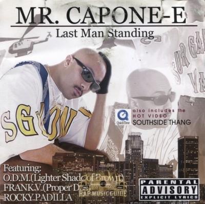 Mr. Capone-E - Last Man Standing