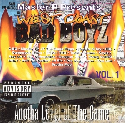 West Coast Bad Boyz - Anotha Level Of The Game
