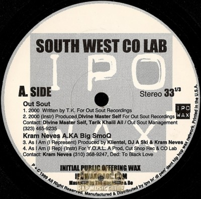South West Co Lab - South West Co Lab EP