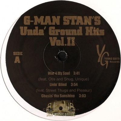 G-Man Stan - Unda-Ground Hits Vol.II